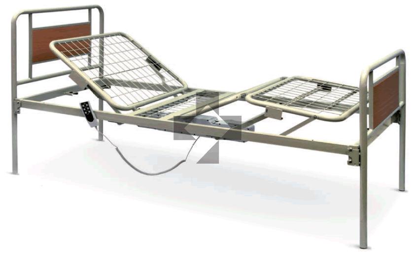 Letti elettrici e letti e ausili letto ortopedico elettrico a tre snodi arpa wimed - Sostituzione rete letto contenitore ...