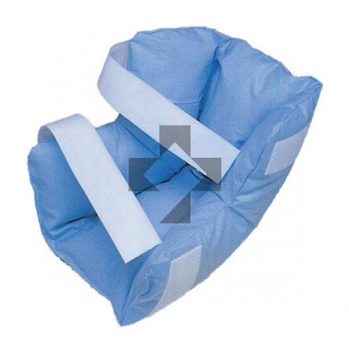Talloniera antidecubito in fibra cava siliconata