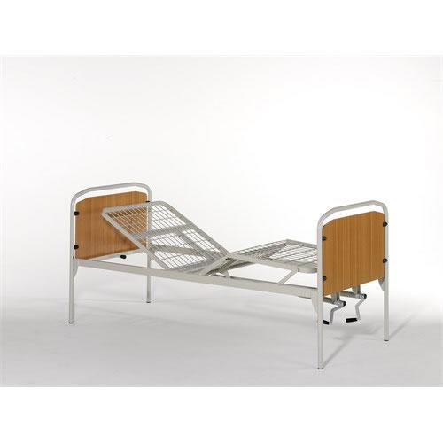 Letti manuali e letti e ausili letto ortopedico a due manovelle rete cm 200 vassilli - Postura a letto ...