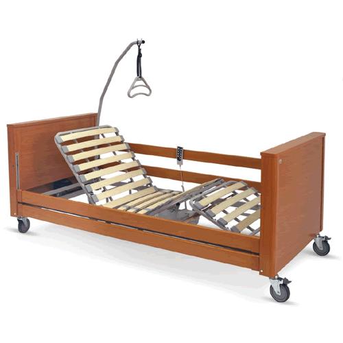 Letti elettrici e letti e ausili letto ortopedico elettrico in legno con base regolabile in - Letto elettrico ...
