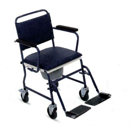 Sedie wc e doccia e ausili bagno e ausili sedia wc con - Sedia con ruote ...