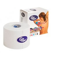 Cerotto Curetape tape neuromuscolare Bianco Aneid