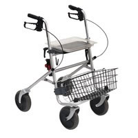 Deambulatore rollator freni a cavo Easy Wimed